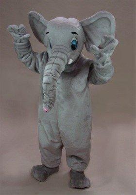 African Elephant Mascot Costume