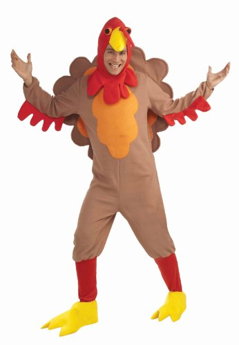 Affordable Adult Fleece Turkey Costume