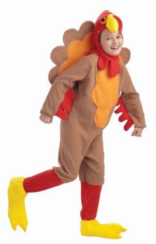 Fun Fleece Turkey Costume for Kids
