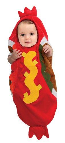 Cute Hot Dog Infant Costume