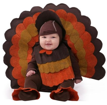 adorable turkey costume for babies
