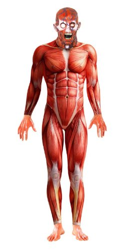 Anatomy Man Second Skin Costume