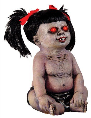 Demonica The Undead Zombie Baby Doll Prop