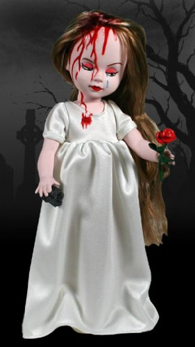 Scary Bloody Girl Doll