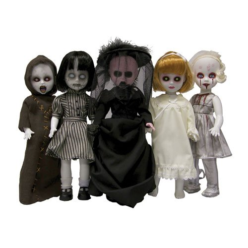 creepy dolls set
