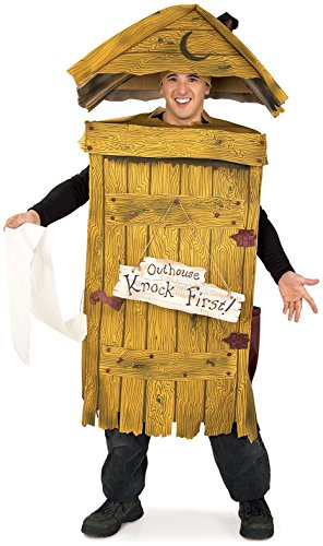 Ridiculous Outhouse Costume for Halloween