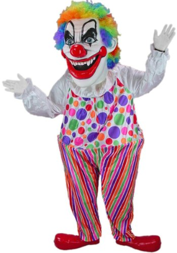 Evil Clown Mascot Costume