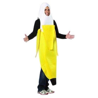 Peeled Banana Adult Costume