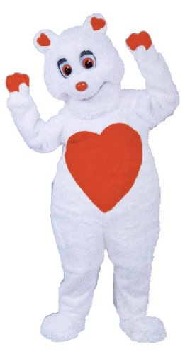 Cute Valentine Bear Costume for adults