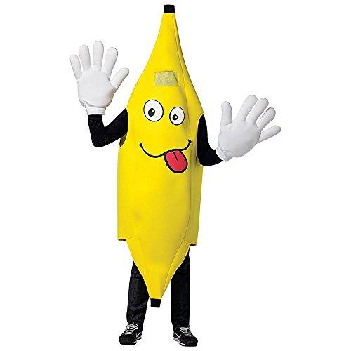 Waving Banana Mascot Halloween Costume
