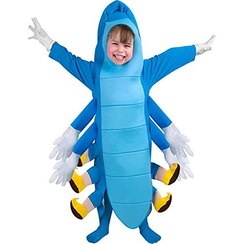 Blue Caterpillar Costume for Kids
