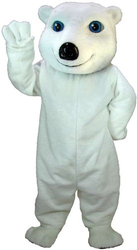White Bear Adult Costume